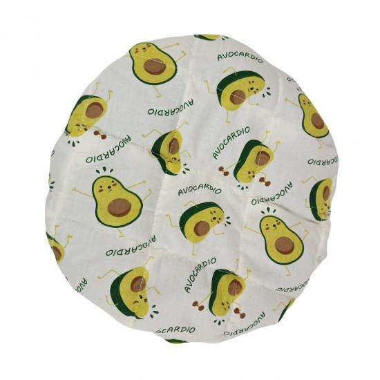 Термошапка для глубокого кондиционирования волос, Спортивные авокадо