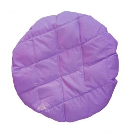 Термошапка для глубокого кондиционирования волос, в сиреневом цвете