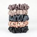 Sets of silk scrunchies