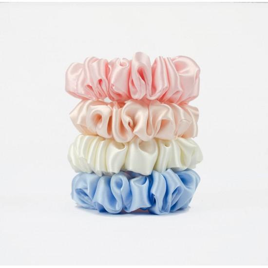 MiMiMi-Set з чотирьох вузеньких шовкових резиночок