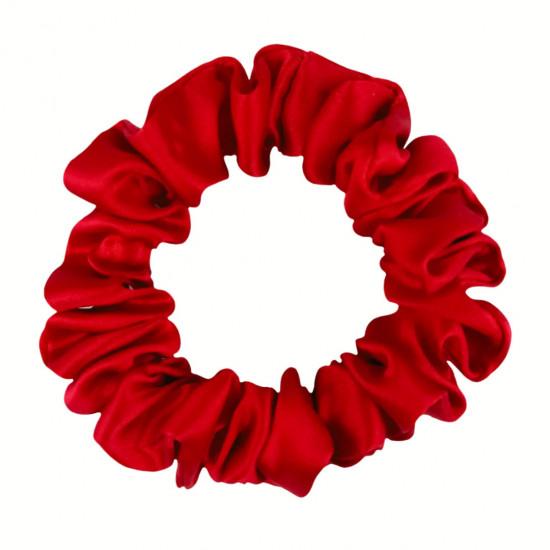 Шовкова резиночка для волосся, вузька, Red Valentino
