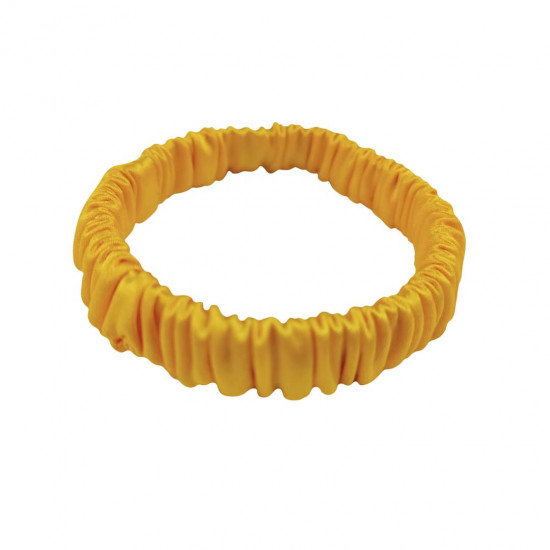 Skinny scrunchie, sunny yellow