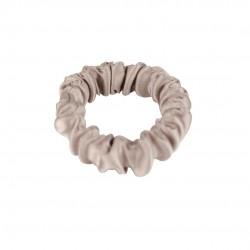 Детская шелковая резиночка для волос, Скинни, Теплый тауп