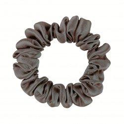 Шелковая резиночка для волос, узкая, Грин Грей