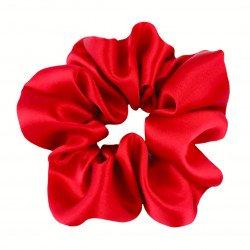 Шелковая резиночка для волос, широкая, Red Valentino