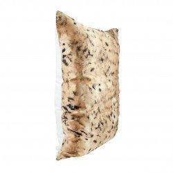 Single Sided 50x70 Silk Beauty Pillowcase, print wild cat / White