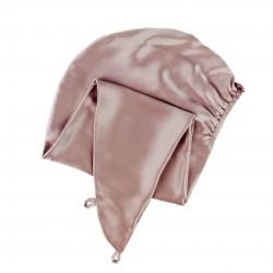 Шелковый тюрбан-полотенце, в цвете Теплый Тауп