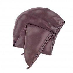 Silk Turban Towel, Brownie