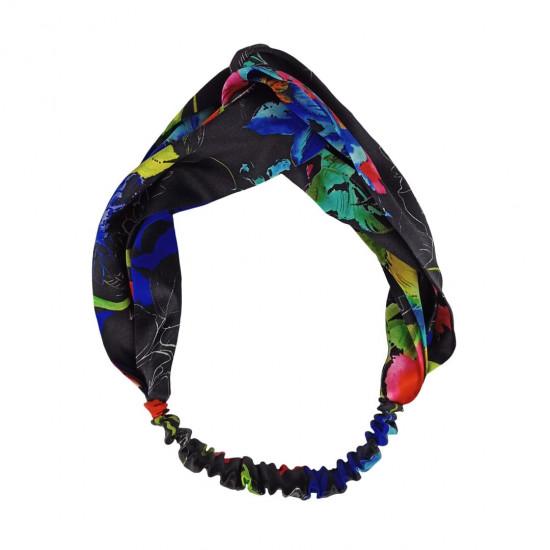 Silk headbands, print DG