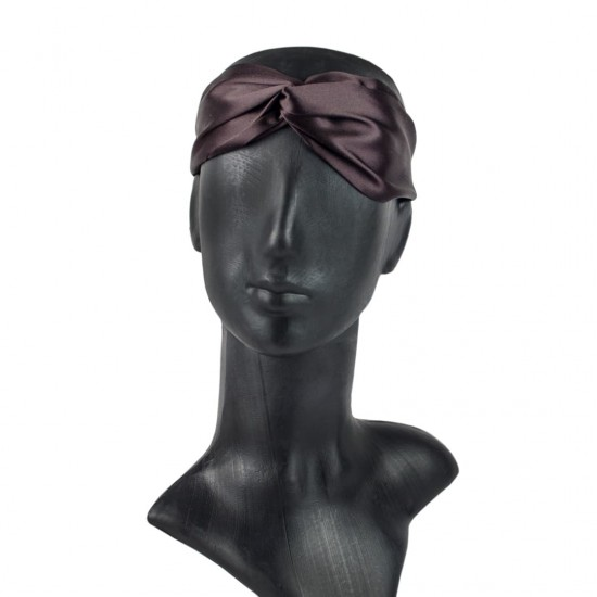 Silk headbands, Dark chocolate
