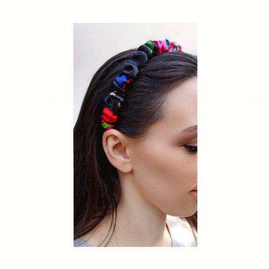 Silk headband for hair, D&G