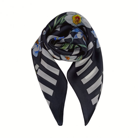 Silk scarf, Monnalisa (65x65 cm)