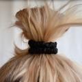 Silk Skinny scrunchies