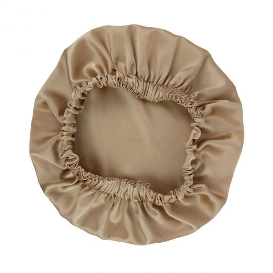 Двусторонняя шелковая шапочка для сна, Bonnet Sleep Cap, Бронза