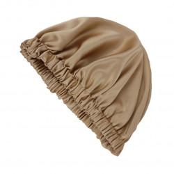 Двусторонняя шелковая шапочка для сна, Bonnet Silk Sleep Cap, Бронза